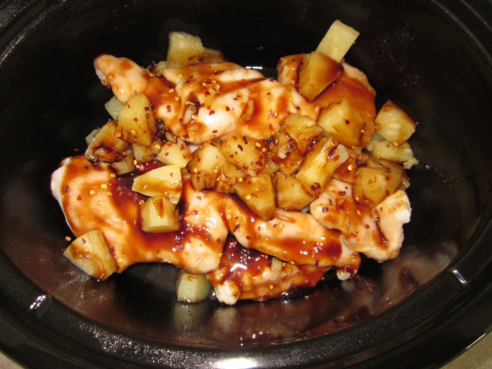 Crock Pot Pineapple Chicken ~ Crockin' Moms