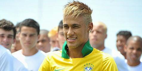 Gaya Rambut Neymar 2014
