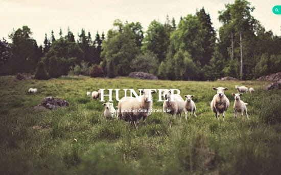 Hunter WordPress Theme