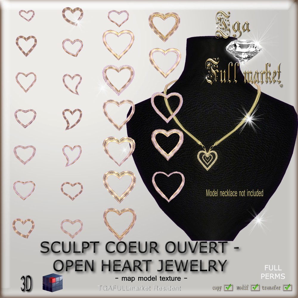 SCULPT COEUR OUVERT - OPEN HEART JEWELRY
