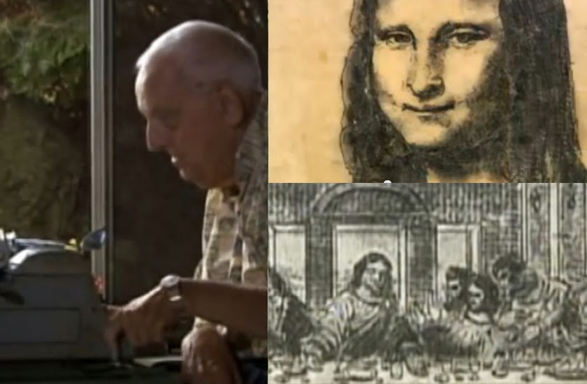 A Man with Cerebral Palsy has Amazing Masterpieces using Typewriter