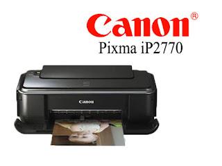 Cara Mengatasi Masalah Printer Canon Pixma IP2770 Yang Error