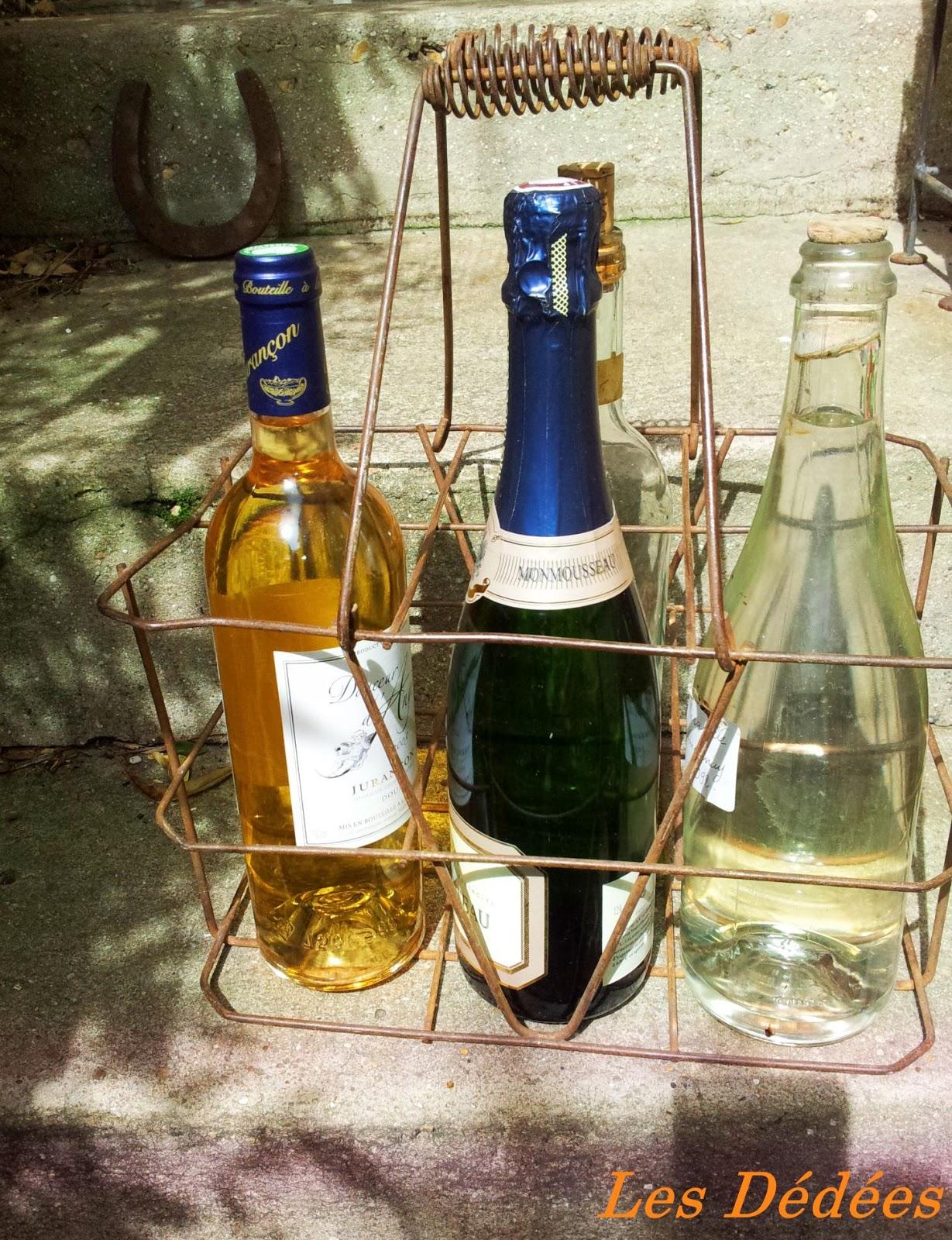 Les dedees : vintage, recup, creations: CASIER PORTE BOUTEILLE ...