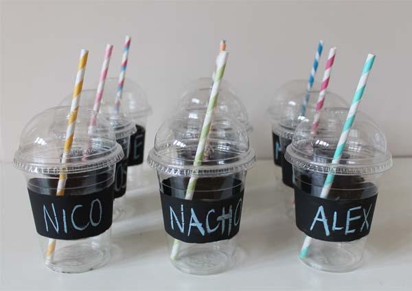 Somosdeco blog de decoraci n febrero 2013 - Decorar vasos plasticos para cumpleanos ...