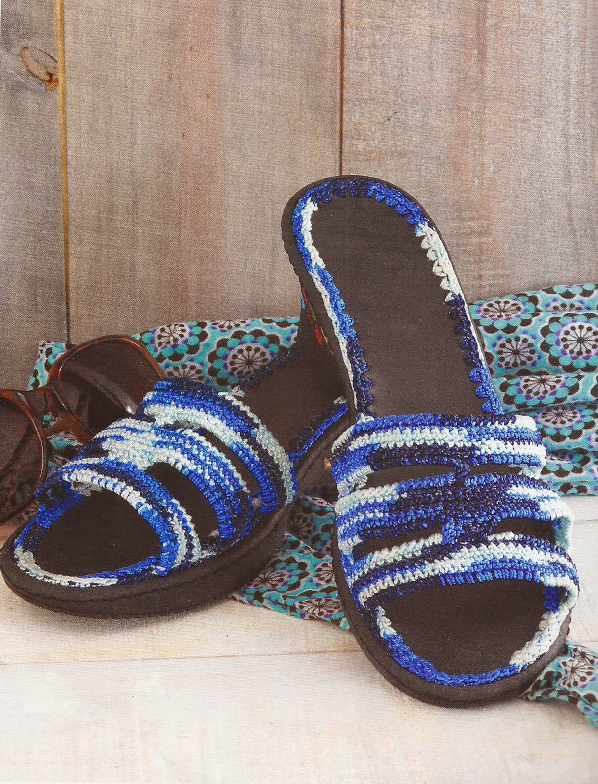 Zapatos a Crochet | Sandalias en Degrade