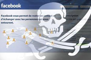 facebook code pirate sur votre mur actu web. Black Bedroom Furniture Sets. Home Design Ideas