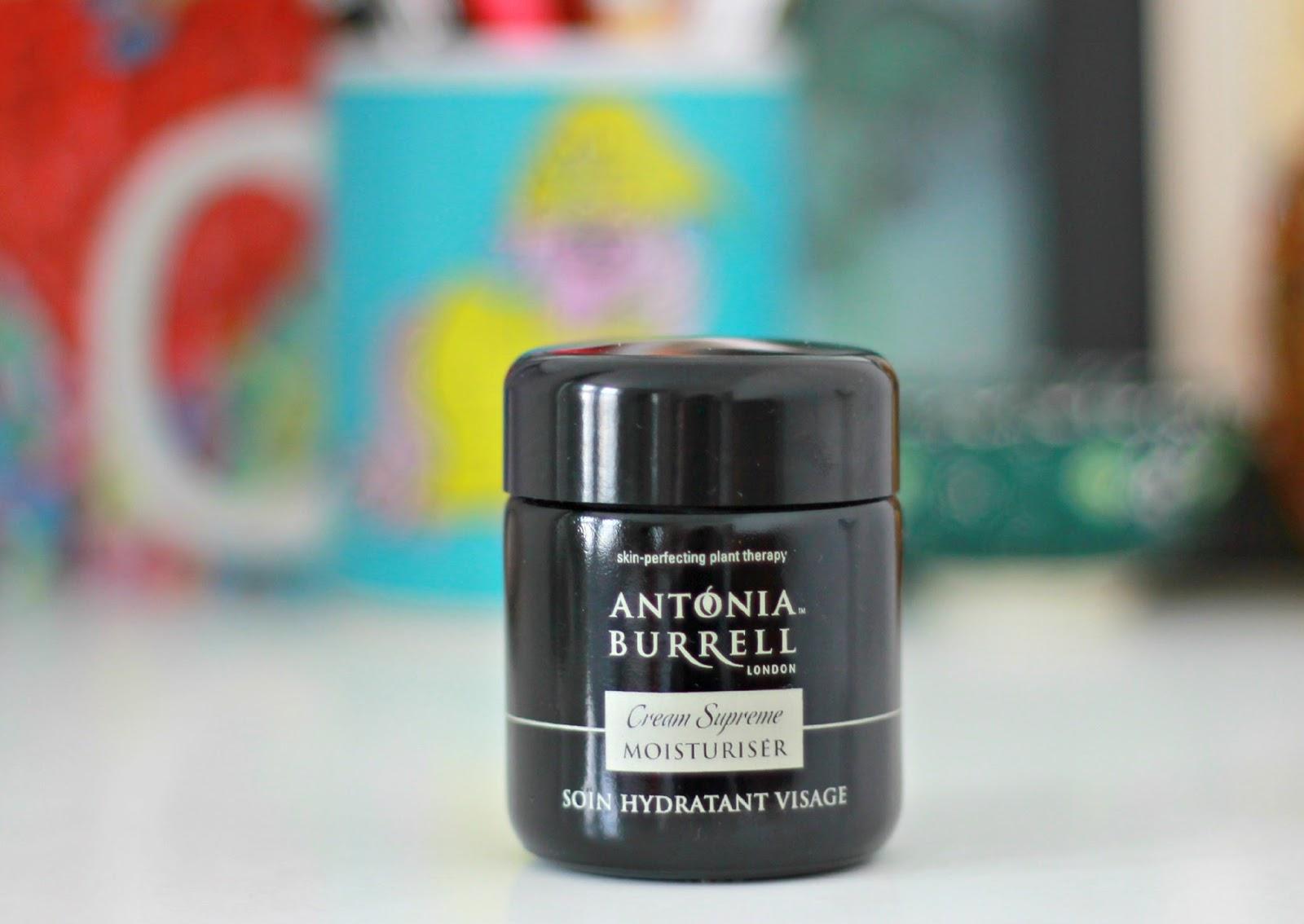 Antonia Burrell Creme Supreme moisturiser review