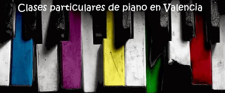 Clases particulares de piano en Valencia