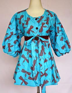 Foto Model Baju Batik Wanita Blouse
