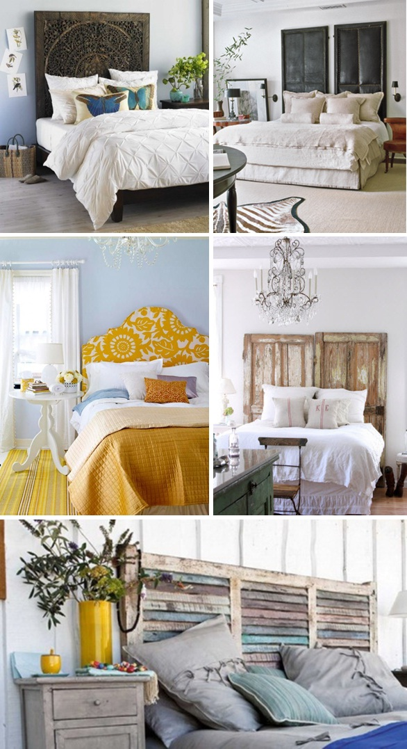 20 creative headboards - that you can make yourself! Images - Frompo