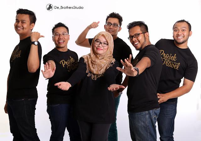 Photoshoot Projek Travel Bersama De Brothers Studio
