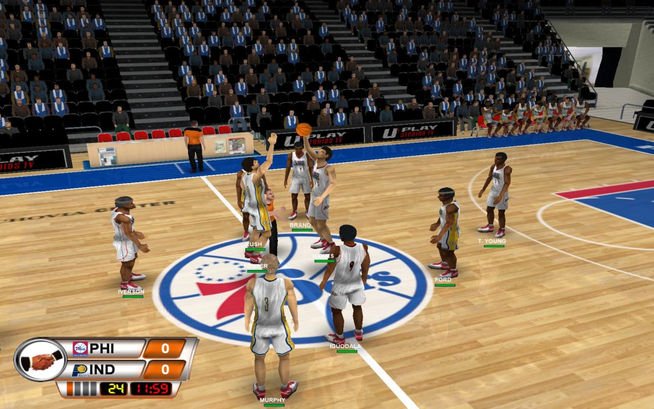 basketball pc games