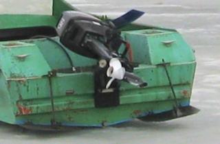 Моторная лодка Неман-2. Транец лодки и дополнительные пластины для улучшения ходовых качеств