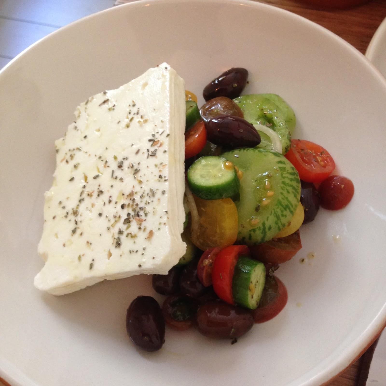 olea, electra house, adelaide, food, king william street, greek, salad
