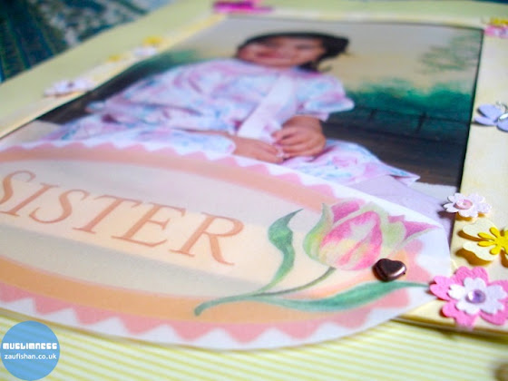 muslim sister scrapbook art project baby scrapbook supplies