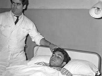 Socarrás estuvo hospitalizado un mes, tras llegar a Madrid escondido en un avión.