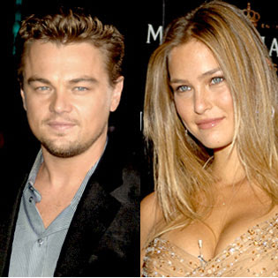 Leonardo DiCaprio and Bar Refaeli Pic