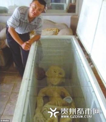 extraterrestre en china congelado