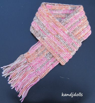 Crochet Pattern For Scarf Easy : Easy Scarf - Sayjai Amigurumi Crochet Patterns ~ K and J ...