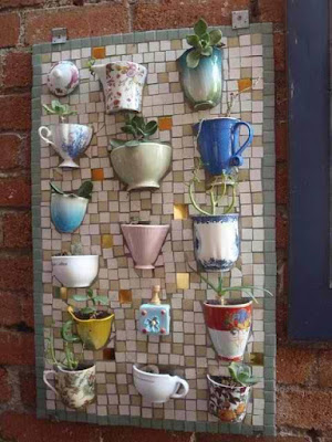 Mosaico para canecas