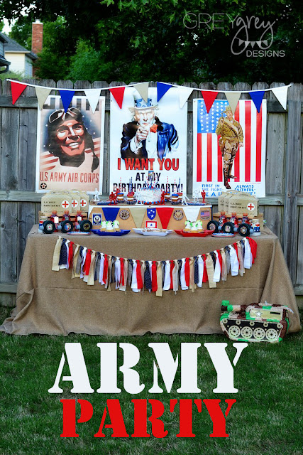 #armyparty #armymen #militaryparty #patrioticparty #july4th #memorialday