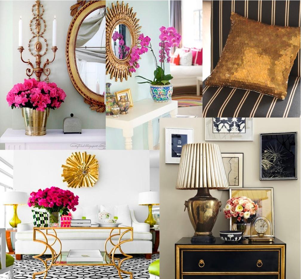 The House of Elle Design Den Gold Rush