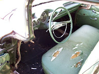 1959 Chevy Bel Air front seat