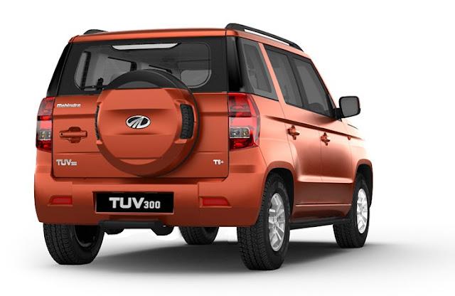 Mahindra%2B-TUV300-rear மஹிந்திரா டியூவி300 எஸ்யூவி - கார் விமர்சனம்