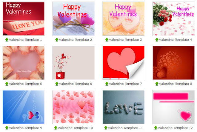 free valentine's day powerpoint templates