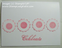 card made with Stampin'UP!'s Sale-a-bration 2013 stamp set: Feeling Sentimental