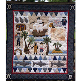 Lynette Anderson Designs PIRATES TREASURE Quilt Pattern