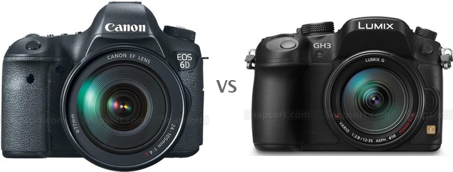 Panasonic Lumix GH3 vs Canon EOS 6D, full frame camera, mirrorless camera, HDR, creative filter, new digital camera, new DSLR camera