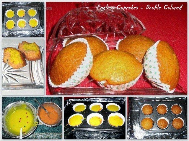 How to Make Eggless Cupcakes