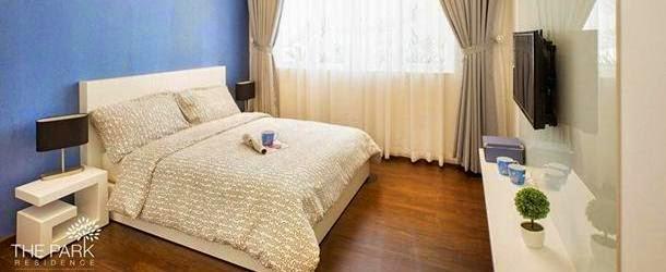 Phòng ngủ căn hộ Park Residence