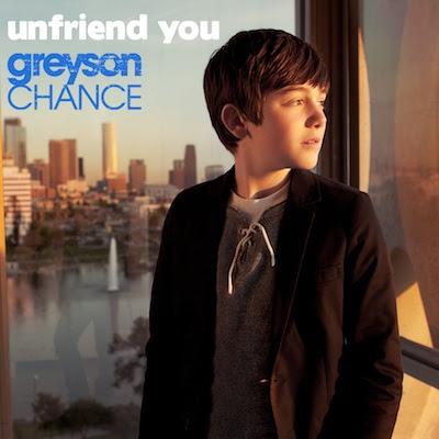 greyson chance unfriend you. said Greyson.