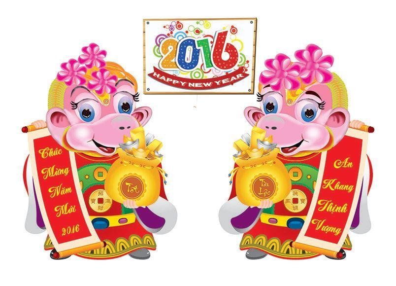 Hình ảnh, hình nền chúc mừng năm mới 2016 - wallpaper Happy new year 2016 Khi năm mới tới thì không thể ... Hình ảnh tết 2016