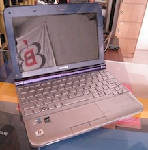 jual netbook bekas toshiba nb 205