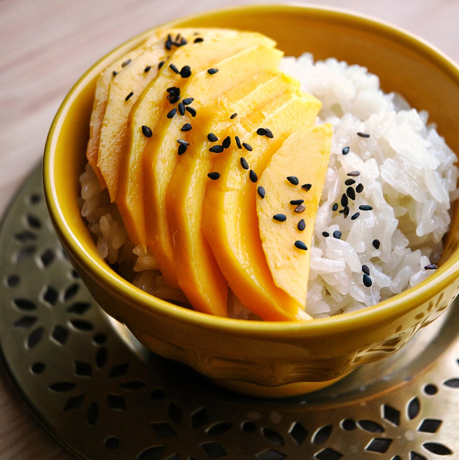 Mango Monday: Manila Mangoes & Coconut Sticky Rice