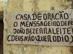 CASA DE ORAÇÃO EM CAJAZEIRAS  EU  VISITO TAMBEM SEU ZE REZADOR DE CACHOEIRA DOS INDIOS  BREVE  AQUI