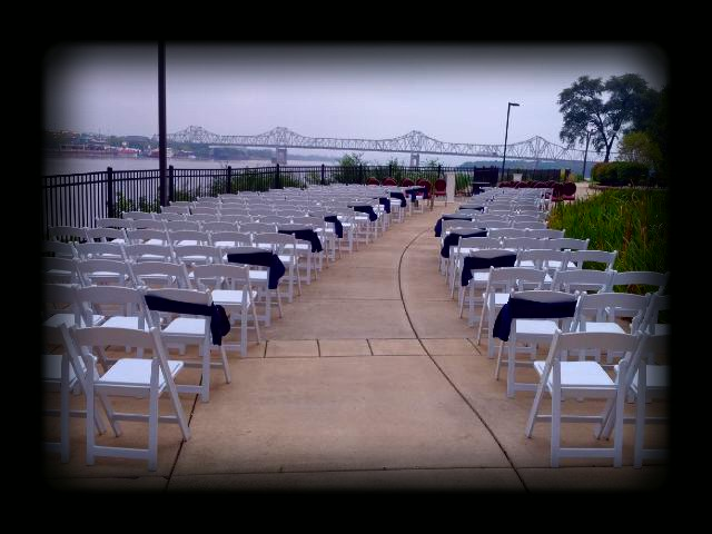 wedding and event rentals in peoria illinois chairs dance floor tents tables embassy suites