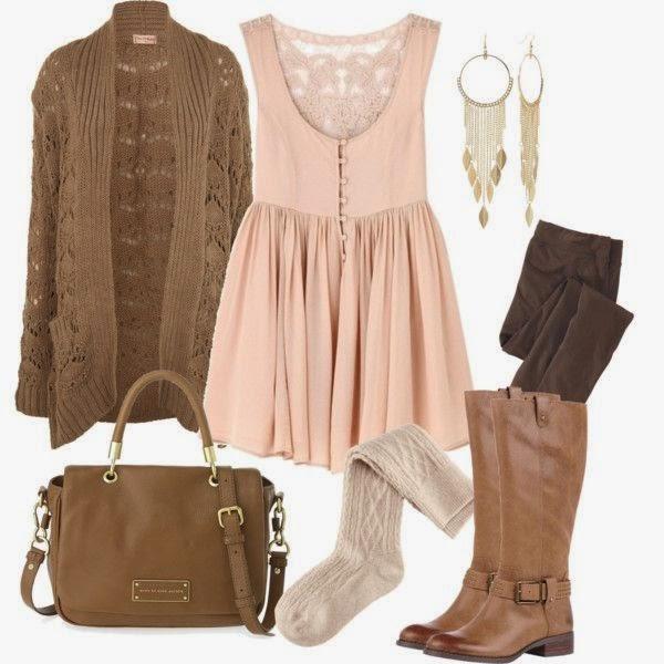 Conjuntos u Outfits con color Marrón
