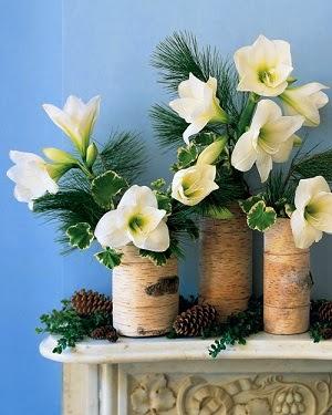 DIY Faux Bois Vases