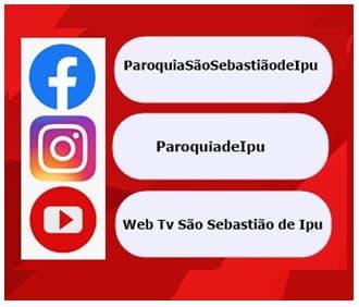 Visite nossas Redes Sociais