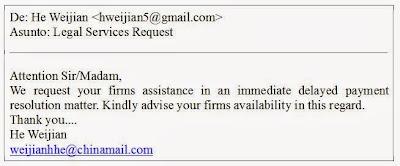 Fraude (Scam) del cheque sin fondos