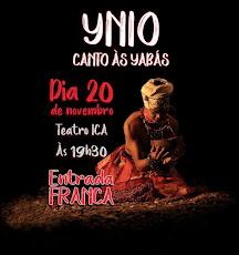 NÃO PERCA. É DIA 20/NOVEMBRO, ÀS 19H30, NO TEATRO ÍRACLES PIRES (TEATRO ICA). ENTRADA FRANCA.