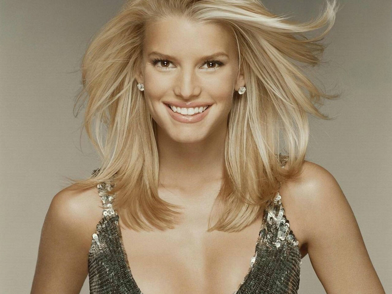 Jessica Simpson Hd Wallpaper Beautiful