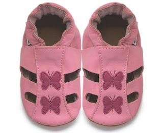 chaussons souple bébé fille
