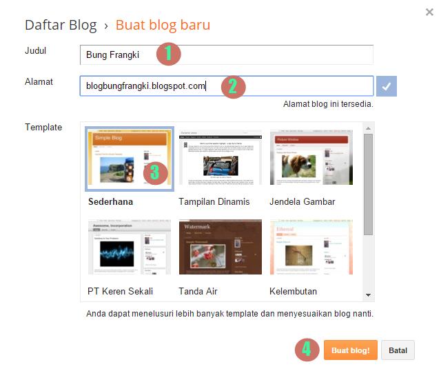 Cara Membuat Blog Gratis dengan Mudah