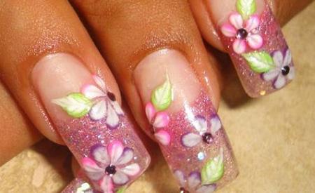 Uñas de acrilicos decoradas - Imagui