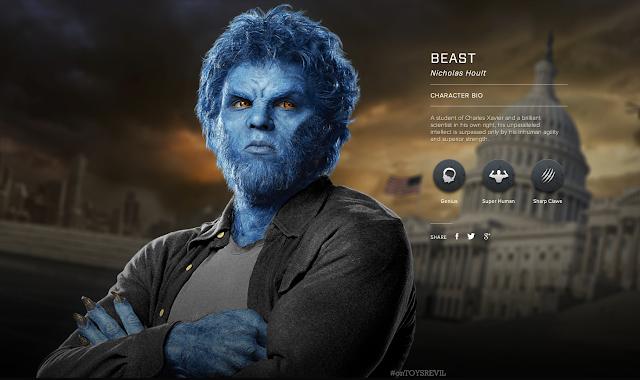X Men Evolution Characters Profiles XMEN ON FILM: Characte...